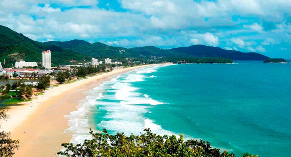 Фото тайланда о.пхукет с пляжа